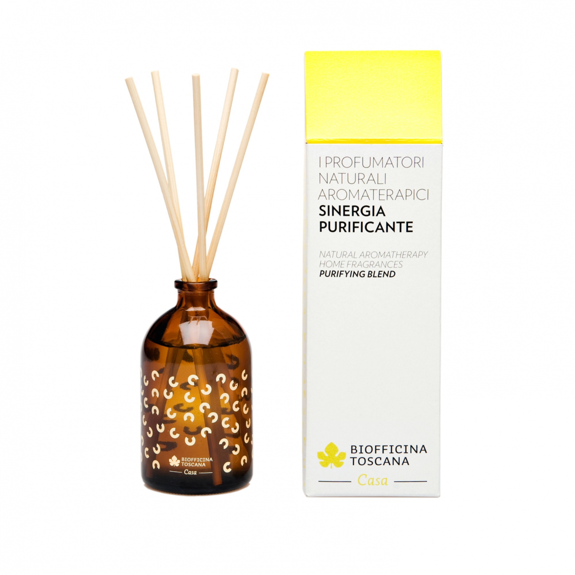Oczyszczający Zapach Do Domu Z Patyczkami 100 Ml Biofeminapl