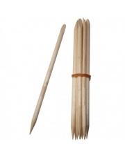 Drewniane patyczki do odsuwania skórek 10 sztuk