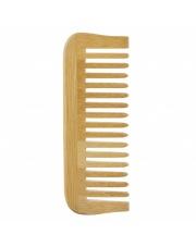 Bambusowy grzebień do włosów Avril z szerokimi ząbkami