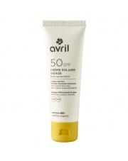 Krem do opalania z filtrem SPF 50 - 50 ml - organiczny Ecocert