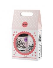 Zestaw: Naturalne mydło do rąk+ balsam Zimowa Bombonierka