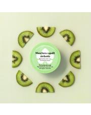 Regenerująca maska do włosów kręconych i falowanych z organicznym kiwi- próbka 5 ml