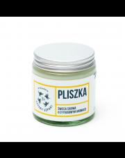 Naturalna świeca sojowa Pliszka (cytrynowa)