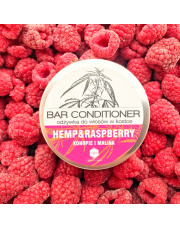 Odżywka do włosów w kostce Malina Herbs&Hydro (puszka)